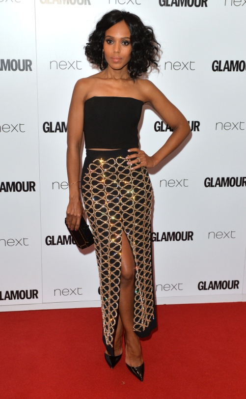 LONDON, ENGLAND - JUNE 02:  Kerry Washington attends the Glamour Women Of The Year Awards at Berkeley Square Gardens on June 2, 2015 in London, England.  (Photo by Anthony Harvey/Getty Images)