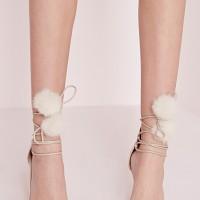 Nouvelle tendance: Chaussures avec pompon...