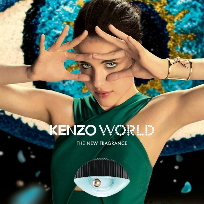 kenzo world l excentrique pub pour le nouveau parfum klara bezha. Black Bedroom Furniture Sets. Home Design Ideas